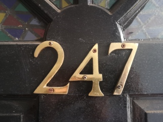 My house number, 24 hours a day, 7 days a week. However, it's a rental property and we've moving soon so it's not 24/7