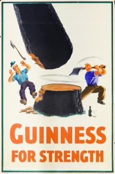 Guinness Gives You Power (1937)