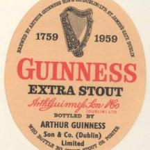 GUINNESS Extra Stout 1959