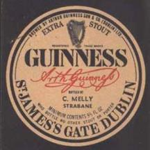 GUINNESS Extra Stout 1968