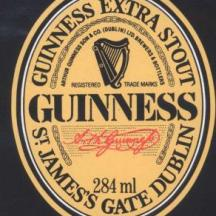 GUINNESS Extra Stout 1981