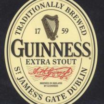 GUINNESS Extra Stout 1998